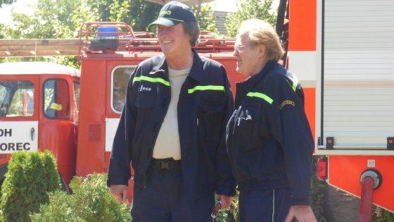 clanek_Vesnický hasič, který to bere vážně, popsal Polívka postavu z komediální série Hasičárna Telecí