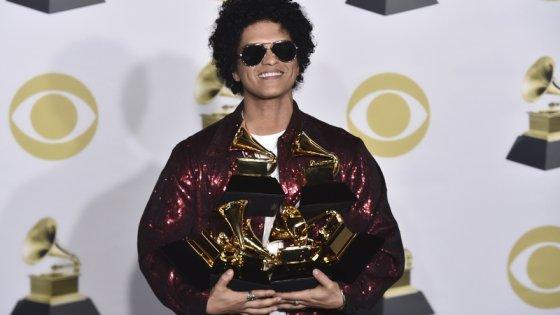 clanek_Despacito nezabodovalo, ceny Grammy ovládl Bruno Mars
